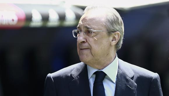 Florentino Pérez se pronunció tras los inesperado movimientos en la Superliga europea. (Foto: AFP)