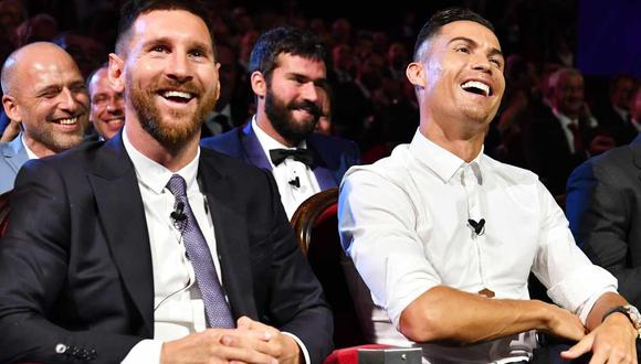 Cristiano Ronaldo y Lionel Messi compitieron en LaLiga durante 10 años. (Foto: EFE)