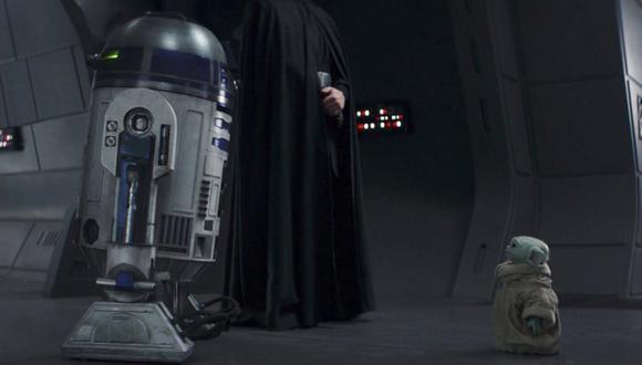 ¿Acaso R2-D2 salvó a Grogu de la Orden 66? (Foto: Disney Plus)