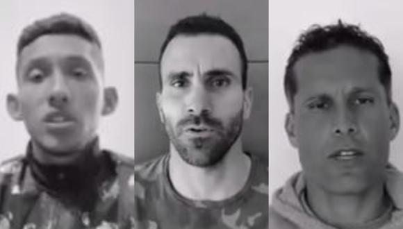 Jugadores de la Liga 1 grabaron un video de sensibilización. (Captura)
