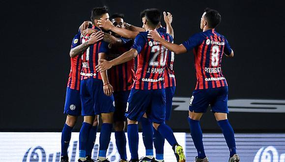 San Lorenzo venció a River con goles de Fernández y Elías en el estadio Monumental. (Getty)