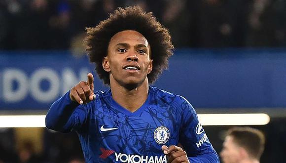 Willian tendría su futuro lejos de Chelsea. (Foto: AFP)