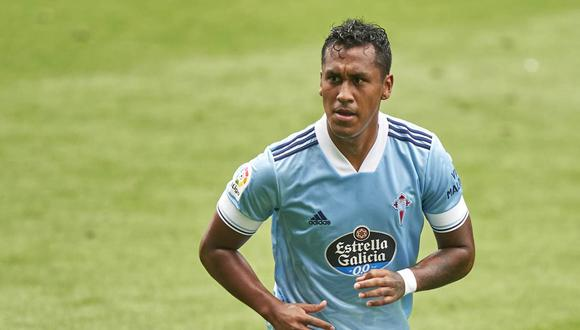 Renato Tapia volvió a la convocatoria de Celta de Vigo para LaLiga. (Foto: Getty Images)