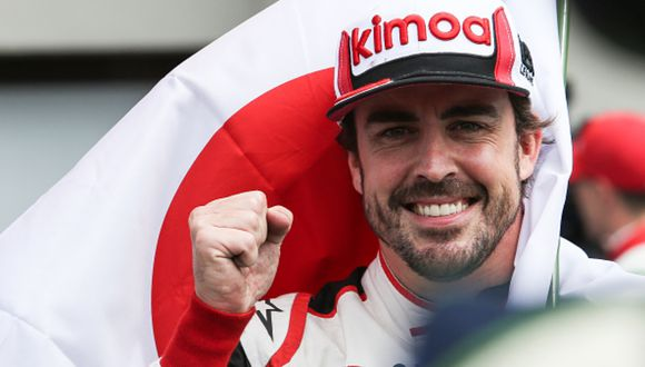 Fernando Alonso es un destacado piloto español que ha ganados dos veces la Fórmula 1 (2005 y 2006). (Foto: Getty Images)
