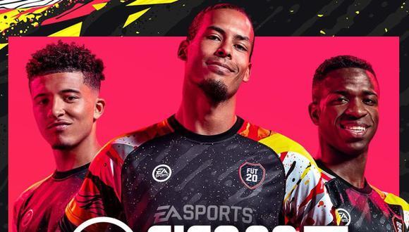 Portada de FUT en FIFA 20 (EA Sports)