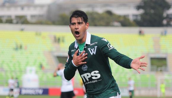 Enzo Gutierrez marcó 13 goles la temporada pasada con Santiago Wanderers. (Foto: @AwanteCL)