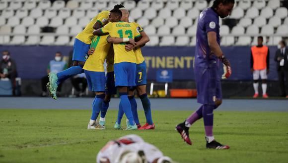 Perú vs. Brasil: la 'blanquirroja' fue goleada por Brasil en su debut por Copa América. | Foto: AFP