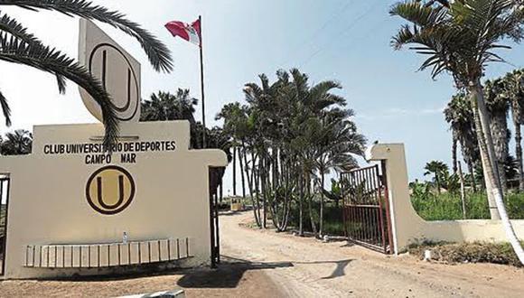 Los jugadores de Universitario no pueden entrenar en Campo Mar. (GEC)