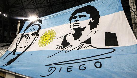 Diego Maradona murió el 25 de noviembre del año pasado en su casa de Tigre. (Getty)