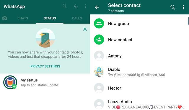 Así es como luce WhatsApp Plus 13.20, la última actualización del APK. (Foto: iDescargar)