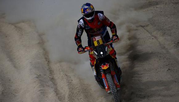 Joan Barreda se llevó la primera etapa del Dakar 2019. (Foto: EFE)