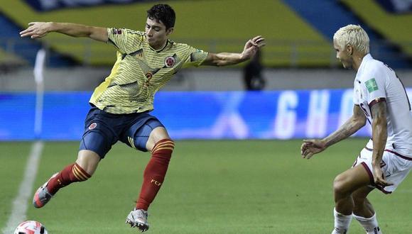 Colombia aplastó 3-0 a Venezuela en el inicio de las Eliminatorias a Qatar 2022. (Agencias)
