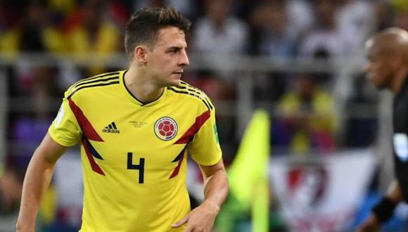 El parte médico de Santiago Arias, después de lesionarse con la selección colombiana. (Foto: AFP)
