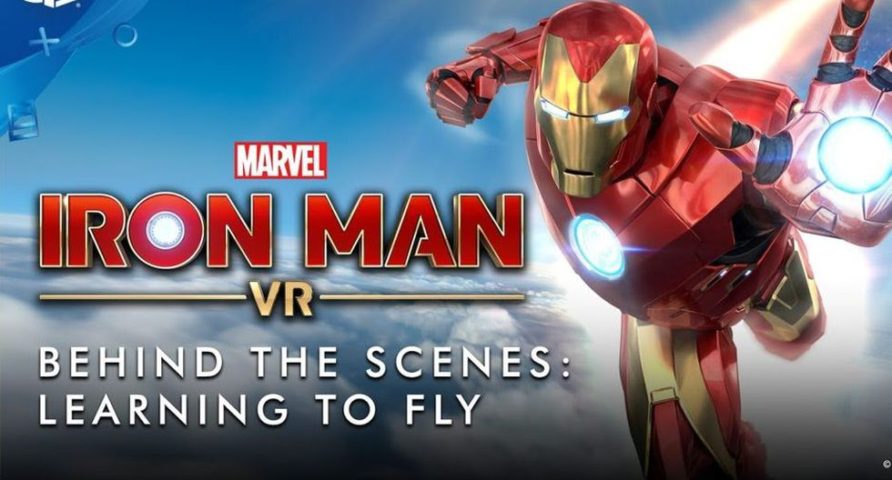 Iron-Man VR retrasa su estreno hasta mayo. (Imagen: Sony)