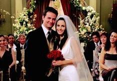 """""""Friends"""": la relación de Chandler y Monica iba a suceder antes, pero no se pudo por Rachel y Ross"""
