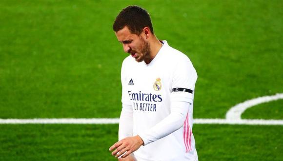 Eden Hazard nuevamente de baja en Real Madrid para el último partido de LaLiga. (Foto: Reuters)