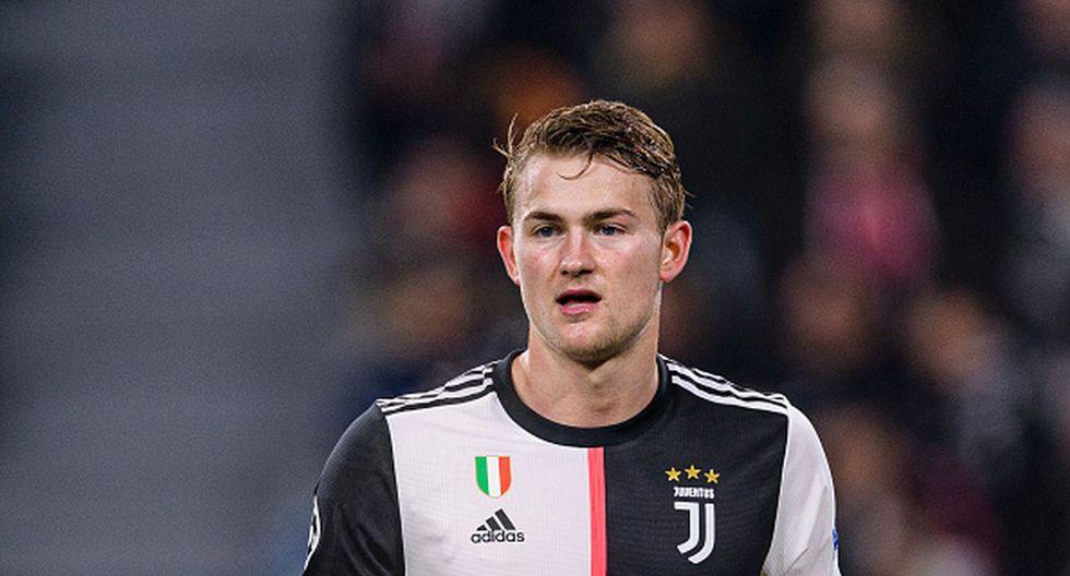 De Ligt jugó en el Ajax hasta mediados de 2019. (Getty))