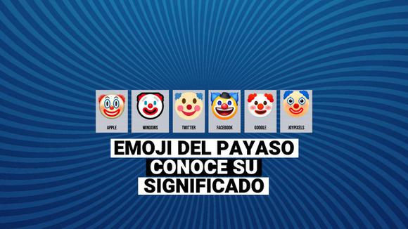 WhatsApp: Learn the meaning of clown emoji