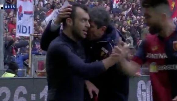 Juventus perdió el invicto en la Serie A a manos de Genoa.  (Captura: ESPN 2)
