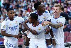El clásico volvió a ser merengue: Real Madrid venció 1-2 al Barcelona en el Camp Nou