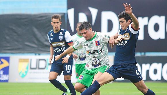 Alianza Universidad empató contra San Martín, por la Fase 2. (Foto: Liga 1)
