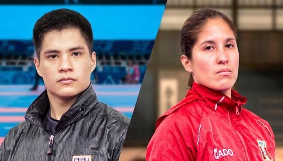 Mariano Wong y Alexandra Grande lo darán todo en Chile. (Foto: IPD)