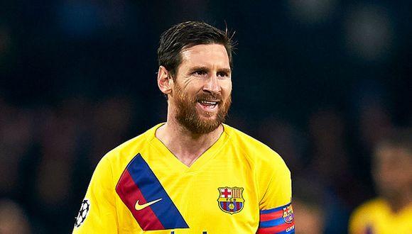 Lionel Messi ha ganado cuatro Champions League con la camiseta del Barcelona. (Foto: Getty)
