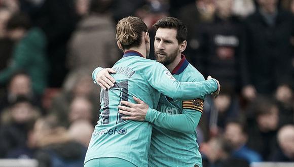 Griezmann llegó al Barcelona en 2019 desde el Atlético de Madrid. (Getty)