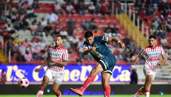Puebla derrotó 1-0 a Necaxa en la jornada 13 de la Liga MX. (Foto: Imago 7)