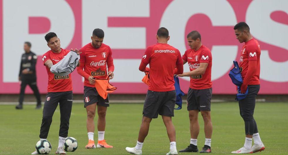 Josepmir Ballón entrenó en la Videna. (Jesus Saucedo/GEC)