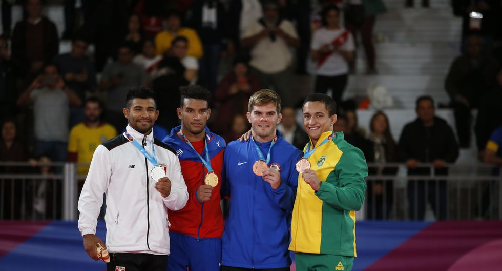 Alonso Wong: Medalla de plata en Judo. (Foto: Hugo Pérez / GEC)