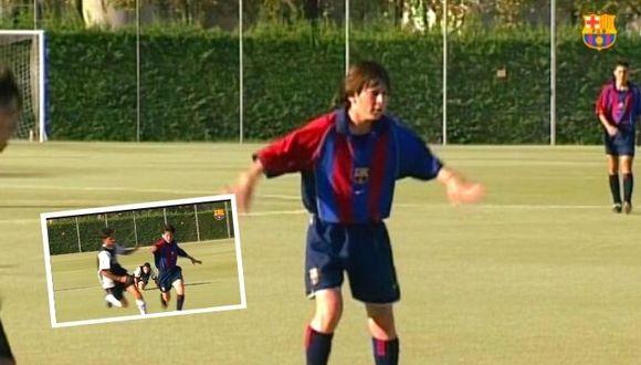 Barcelona comparte impresionante video de Lionel Messi en La Masía.