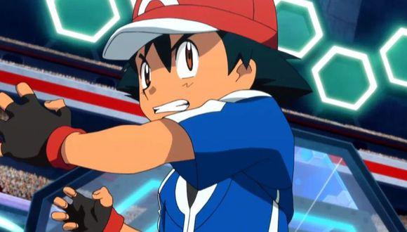 Ash en la serie Pokémon (TV Tokyo)