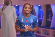 André Carrillo se lució en comercial de shawarmas en Arabia [VIDEO]