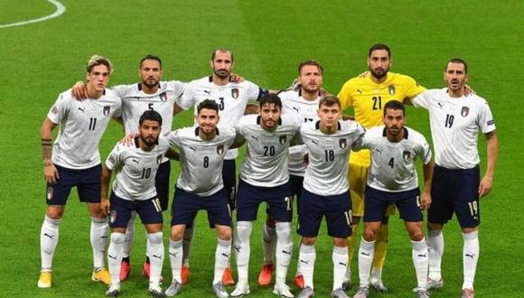 Selección italiana de fútbol. (Foto: TyC Sports)