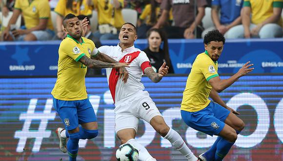 Brasil vs. Perú juegan por la final de la Copa América 2019. (Getty)