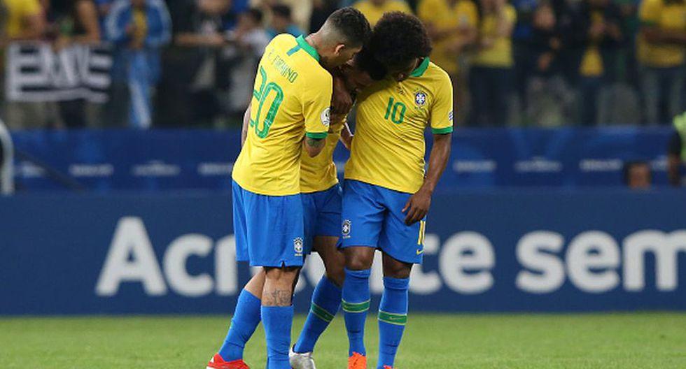 Gabriel Jesus no ha anotado ni en la Copa del Mundo ni en la Copa América. (Getty)