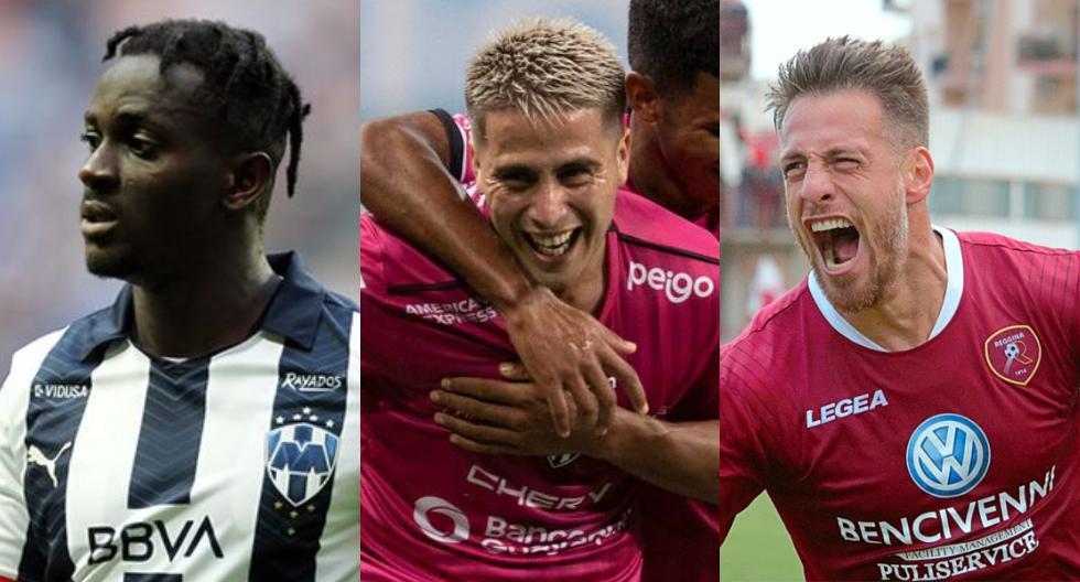 Los extranjeros que destacaron en la Liga 1 (Foto: Agencias)