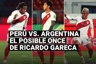 Ricardo Gareca usaría este posible once para enfrentar a Argentina