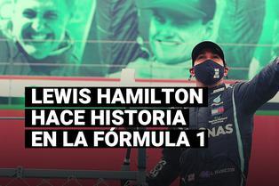 Lewis Hamilton superó récord histórico de Michael Schumacher en la Fórmula 1