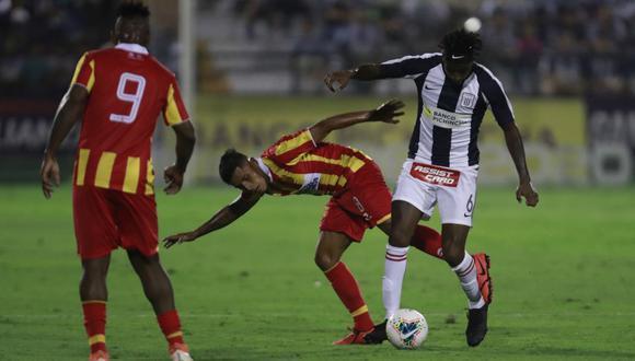 El último partido de Carlos Ascues fue el 15 de febrero frente al Atlético Grau. (Foto: Cesar Campos/GEC)