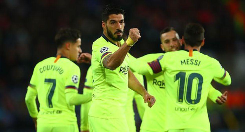 Luis Suárez ha ganado una Champions con la camiseta del Barcelona. (Foto: Getty)