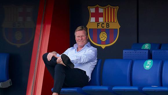 Ronald Koeman habló de Erling Haaland y los fichajes que suenan para Barcelona. (Foto: Getty Images)