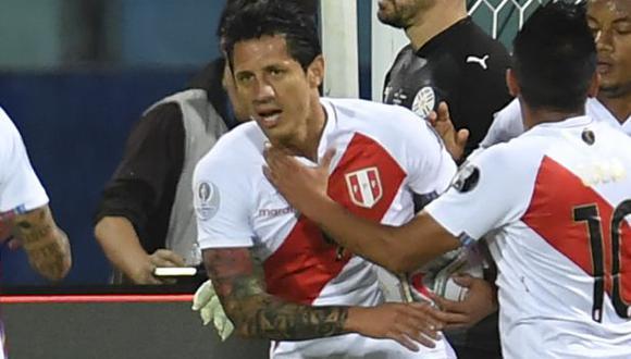 Gianluca Lapadula marcó tres goles en la Copa América, uno menos que Lionel Messi y Luis Díaz. (Foto: AFP)
