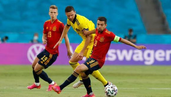 España y Suecia empataron 0-0 en la Jornada 1 de la Eurocopa 2021. (Foto: Getty Images)