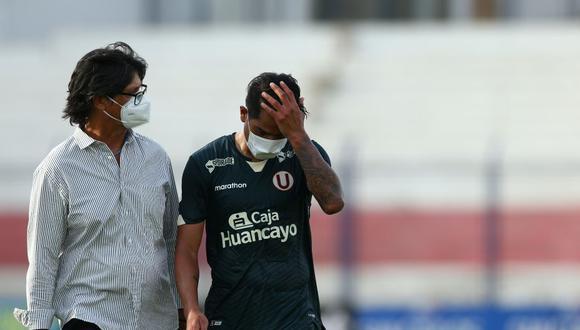 Gutiérrez se lesionó ante Defensa y Justicia. (Foto: Liga 1)