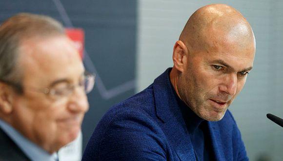 Zinedine Zidane y Florentino Pérez hacen cortocircuito por Gareth Bale (Getty)