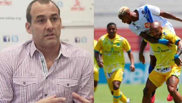 Roberto Silva, presidente de la SAFAP, habló sobre el caso de los jugadores de Carlos Stein. (Fotos: Agencias)