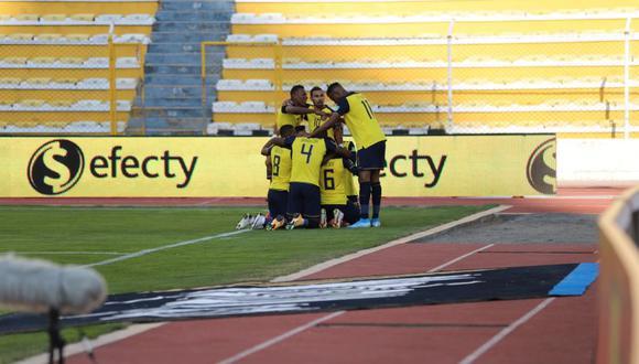 Ecuador sumó su segundo triunfo consecutivo en las Eliminatorias Qatar 2022. (Foto: La Tri)