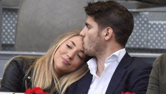 Álvaro Morata y Alice Campello tienen dos años de matrimonio.